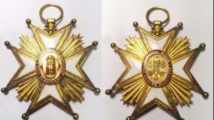 Croix du Chapitre de la cathedrale de Perpignan