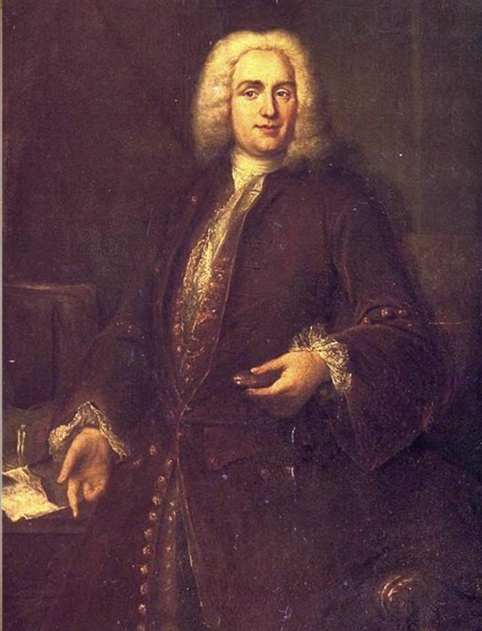 portrait présumé de Boismortier