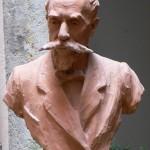 J.Charpentier, buste de Raymond Sudre, 1911.