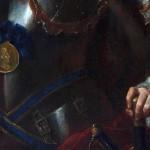 detail portrait, Musée Rigaud, Perpignan