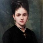 portrait de Clara Salamo, 1871.