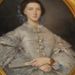 Portrait de Léonie Bardou, née Amiel, 1860.
