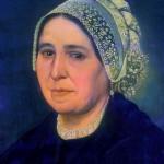 Portrait de Catalane par Urbain Viguier 1861