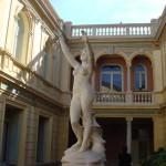 jardin suspendu de l'Hotel Pams à Perpignan