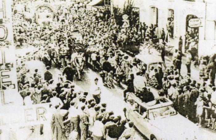 Dali à Perpignan le 27 août 1965.
