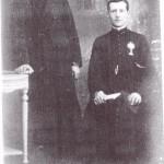 Les fils de Leon Soulié, Victor et Maurice.