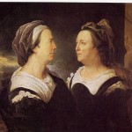 Portrait de Maria Serre par son fils hyacinthe Rigaud.
