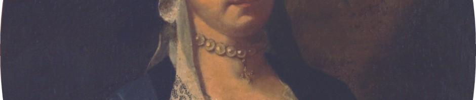 portrait de Mme Roig en coiffe à la Fontange, 1699.