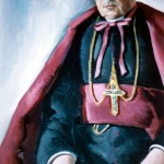 Portrait de Mgr Bernard évêque de Perpignan, Balbino Giner.