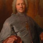Portrait d'evêque par H.Rigaud.