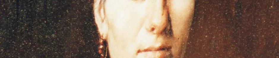 Portrait anonyme, femme aux grenats de Perpignan