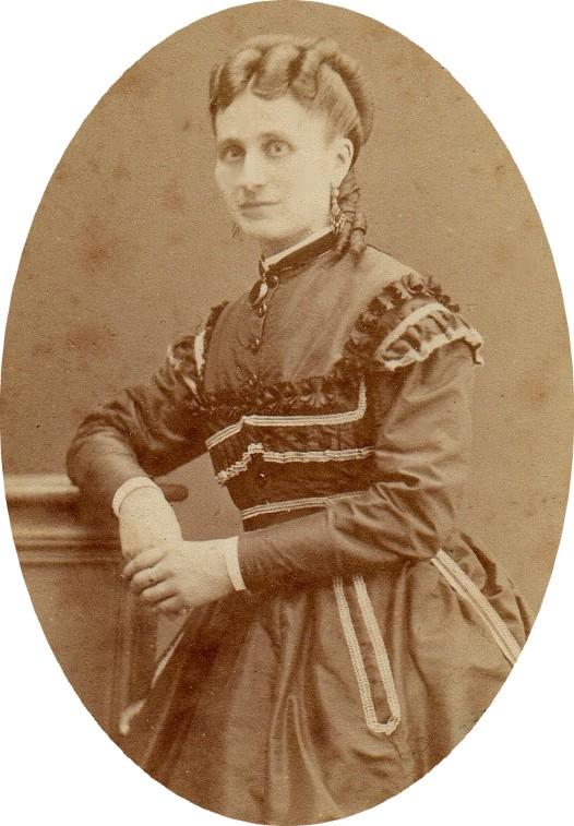 Mme Perrin, photo Scanagatti, Perpignan, vers 1875
