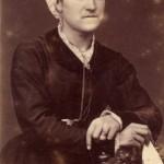 Portrait de Catalane, Perpignan, vers 1875.
