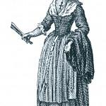 Costume de Roussillonnaise de la bourgeoisie aisée , 1788, Carrere.