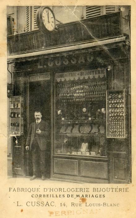 Bijouterie Louis Cussac à Perpignan, début XXe s. Institut du Grenat