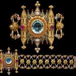 bracelet néo gothique, FELIX ROUSSELOT (c.1840-1850)