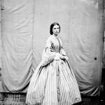 Mademoiselle Marie Massol, Montastruc, fonds Bibliothèque de Toulouse, cliché Vidal.
