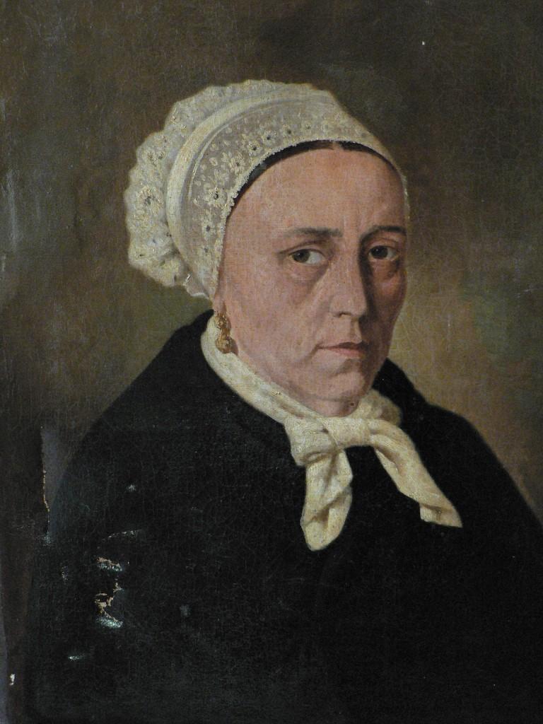 Portrait de Catalane, huile sur toile, vers 1880.
