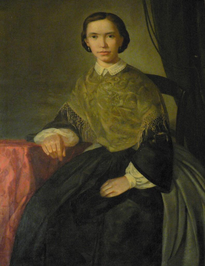 Portrait de Marie Pujol, Perpignan, vers 1865.