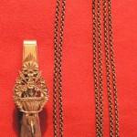Clavier en argent, avec ses chaines, Roussillon, Perpignan milieu 19e s.