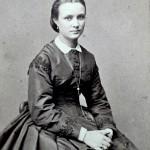 Portrait de jeune femme, Photo Persus, Paris, vers 1865.