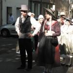 Jeune couple en costume provençal, Trets 2010