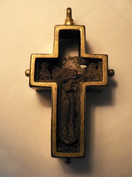 croix reliquaire XVIIe s.