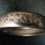 Bracelet Napoléon 3 en métal doré