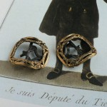 Boucles de soulier Louis XVI shoe buckles