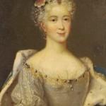 Portrait de marie leczinska