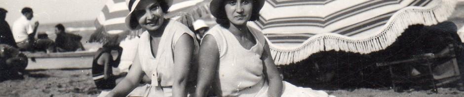 aout 1932 au Barcarès, la mode des tenues simples