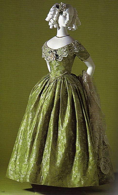 robe de bal 1845-1855