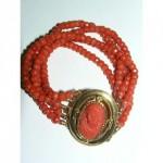 bracelet en corail 19e s., vente Cahors 5 06 2010