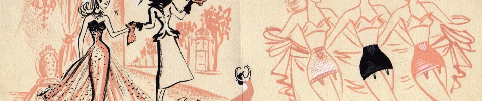 Gaine chiquita, carte pub création ateliers I.C.A. Paris