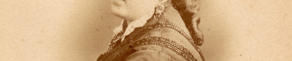 Clara Salamo, autour de 1875, photo Provost, Perpignan