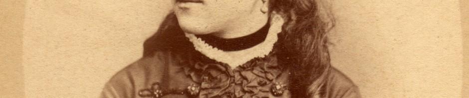 Clara Salamo, photo Provost à Perpignan, vers 1873