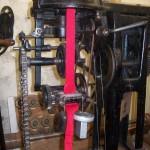 détail d'une machine tricot circulaire de l'entreprise Tricot Dio (début 20e s.)