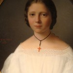 ebay portrait de jeune femme
