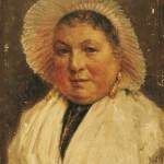 Francis Tattegrain portrait de Marie la Boulonnaise