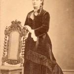 Portrait de femme, Roussillon, Perpignan, vers 1875.