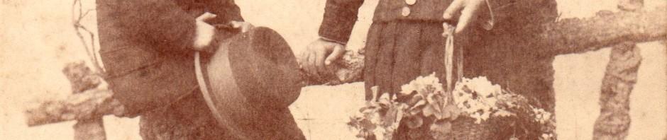 Enfants du Roussillon, cliché Mas, Perpignan, autour de 1880.