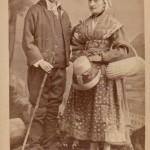 Costume regional auvergnat, Mont Dore, photo Sanitas.
