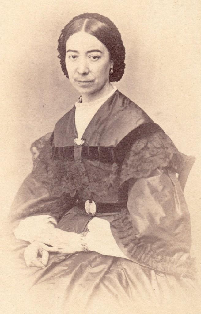 Portrait de femme, P.Germain, Perpignan.