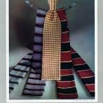 Cravates Tricot, la production des établissements Diogène à Perpignan et à Barcelone