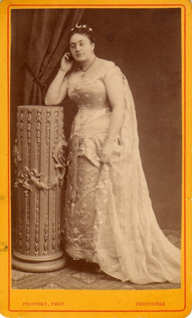 Costume de scène, Perpignan, Provost, vers 1870-1880.