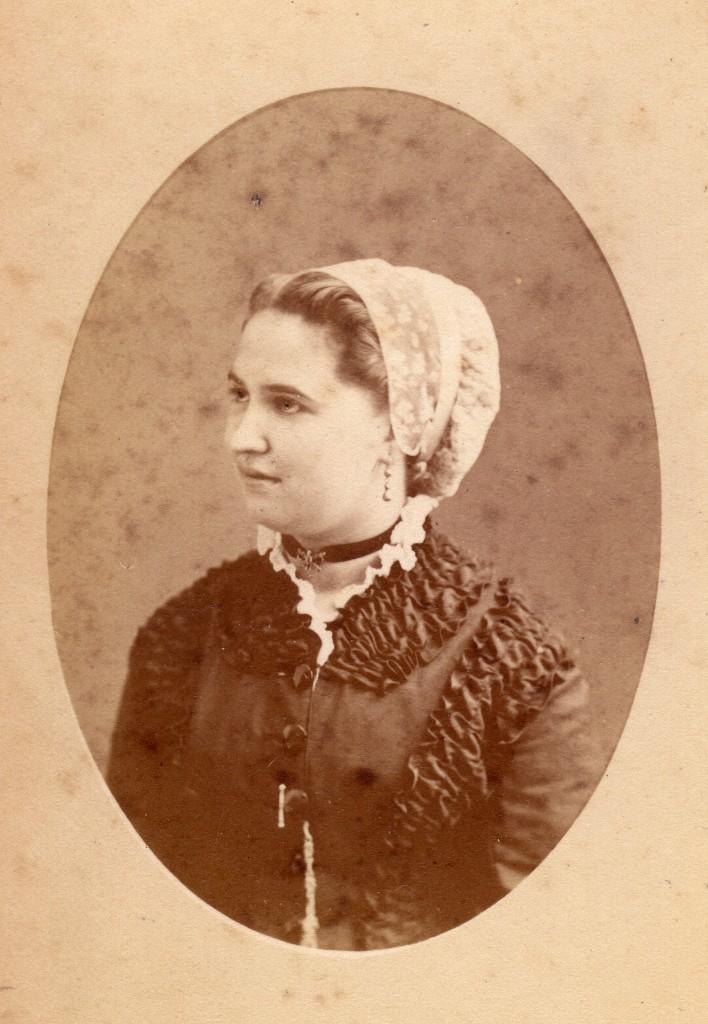 Portrait de Lucie Lequin, Perpignan, vers 1880.