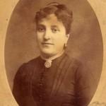 photo Provost, portrait d'Anne Izarn epouse jacques velzy