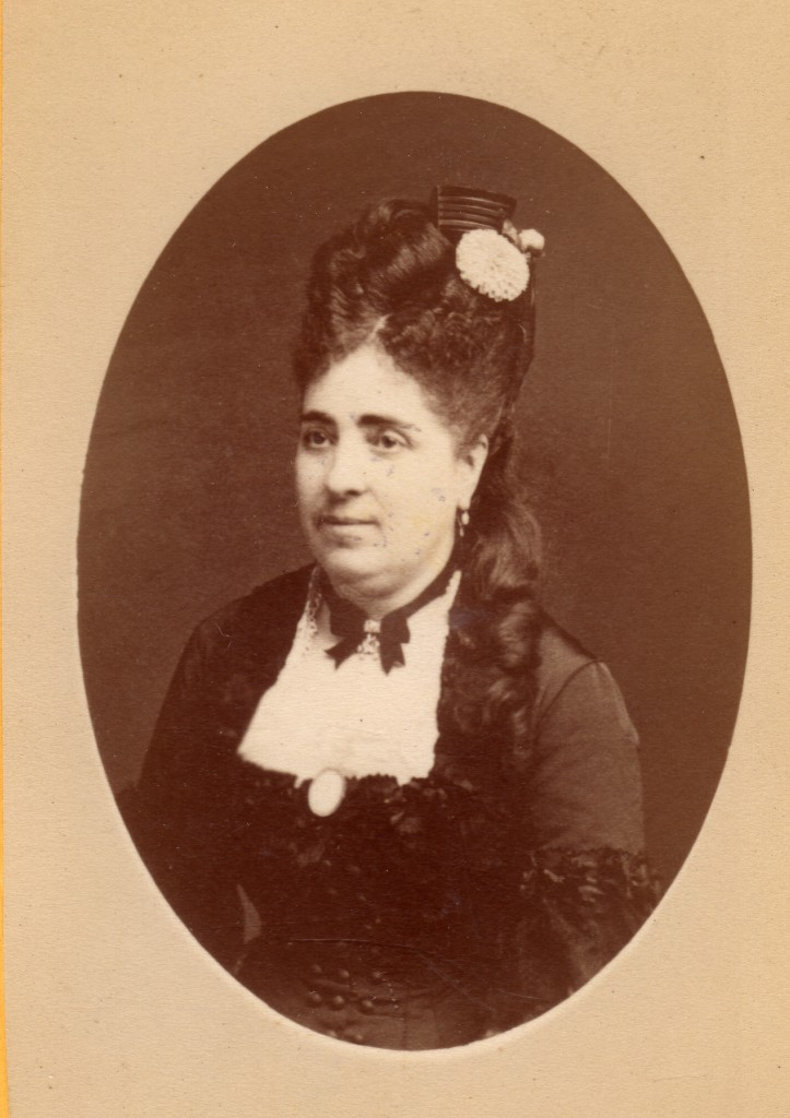 Mode vers 1875, photo Provost à Perpignan
