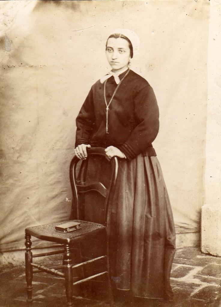 portrait d'Anne velzy, Perpignan, autour de 1880.