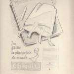 projet de pub gaine chiquita pour revue Plaisir de France